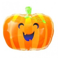 Cute Pumpkin Foil Balloon