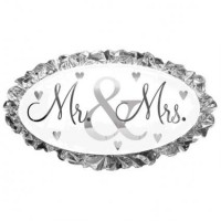 Mr.& Mrs. Supershape Foil Balloon