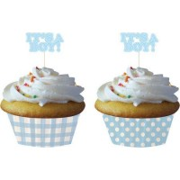 Its A Boy Cupcake Decor Kit