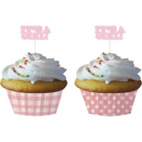 Its A Girl Cupcake Decor Kit