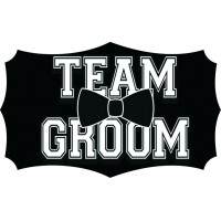 Team Groom Placard