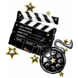 Take 1 Clapboard Supershape Foil Balloon