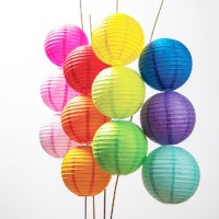 "14"" Paper Lanterns (set of 5)"