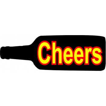 Cheers Placard
