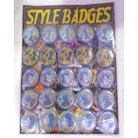 1st Birthday Boy Style Badges