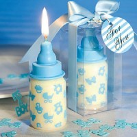 Blue Bottle Scented Candles