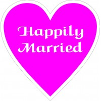 Happily Married Placard