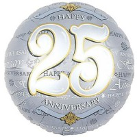25th Anniversary Balloon