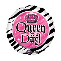Queen For A Day Foil Balloon