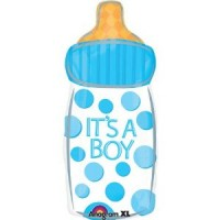 Its A Boy Baby Bottle Foil Balloon