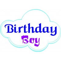 Birthday Boy Placard