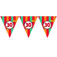 30th Birthday Theme Paper Dangler