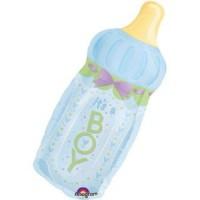 It's A Boy Bottle Foil Balloon