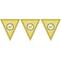 50th Birthday Theme Paper Dangler