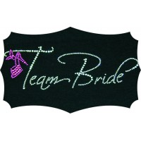 Team Bride Placard
