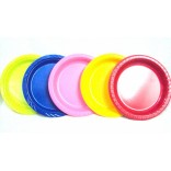 "Assorted 9"" Dinner Plastic Plates"