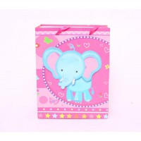 Elephant 3D Cut Out Gift Bags