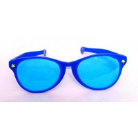 Blue Retro Party Glasses