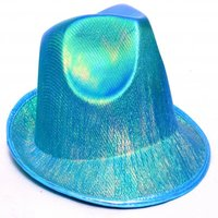 Blue Glossy Hat