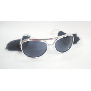 Elvis Eye Glasses (Silver)