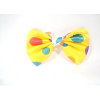 Yellow Clown Bow