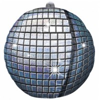 Disco Ball Ultra Shape Balloon