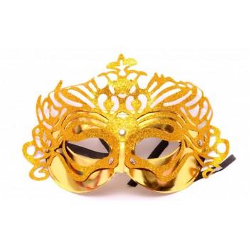 Golden Glitter Eyemask