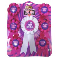 Bachelorette Party Badges Set of 7