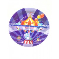 Carnival Theme Paper Plates