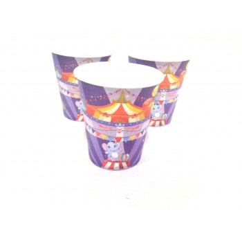Carnival Theme Paper Cups