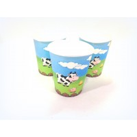 Farm Theme Paper Cups