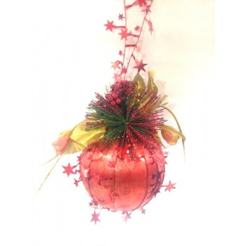 Red Ball Decor
