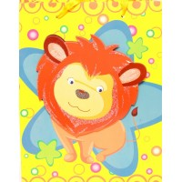 Lion 3D Cut Out Gift Bags