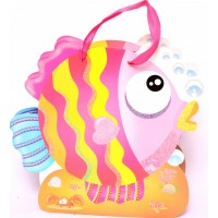Pink Fish Shaped Gift Bags