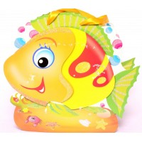 Yellow Fish Shaped Gift Bags