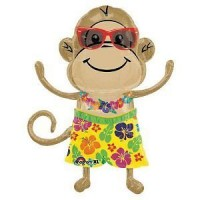 Monkey Luau Boy Balloon