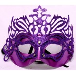 Purple Glitter Eye Mask