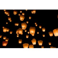 Sky Lanterns Assorted ( pack of 20)