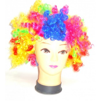 Colorful Afro Wigs