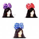 Assorted Big Polka Dot Bow Hairband