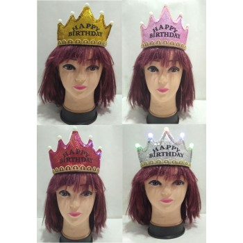 Assorted Colors Led Crowns (1 Pc)