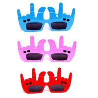 Assorted Funky Finger Eye Glasses