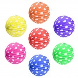 Assorted Color Paper Balls For Decoration (5 Pcs)