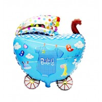 Baby Boy Pram Balloon