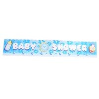 Baby Shower Blue Banner