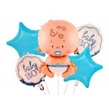 Baby Boy Letter Balloon Set