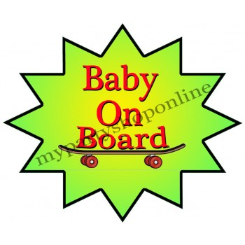 Baby On Board Placard