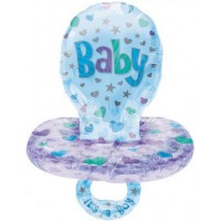 Boy Baby Pacifier Foil Balloons
