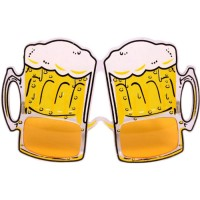Beer Mug Eye Glasses