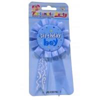 Birthday Boy Light Blue Brooch